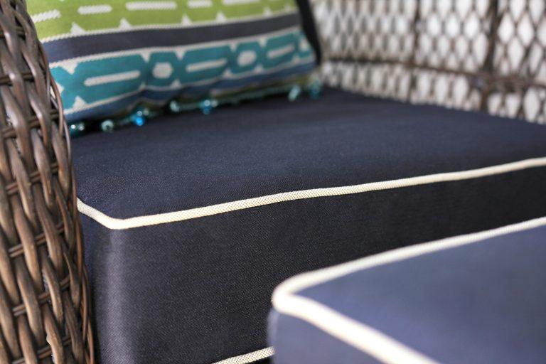 Almofada para exterior Philos GeoBella Premium Solids & Fabric Pillow
