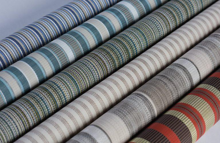 tecido para móveis de listras ao ar livre