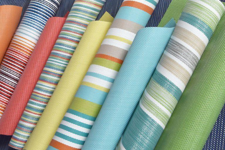 tecidos ao ar livre