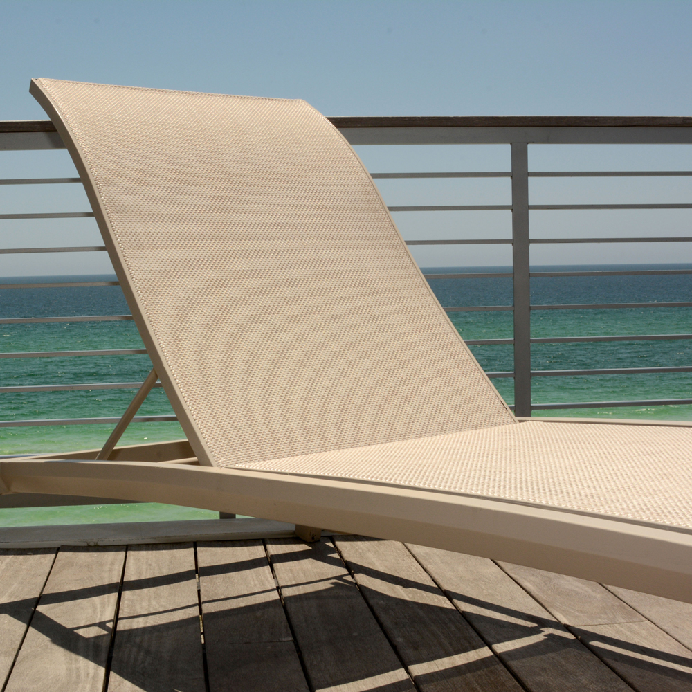 Best Performance by an Outdoor Fabric in Sling Chairs and Upholstery: Vinyl-Coated Polyester Mesh